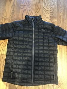 Boys North Face jacket (Black) Size L (14/16)- great condition