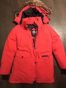 Manteau rouge XS/Small