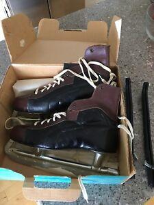 Antique Eaton's skates men's size 12 Vintage
