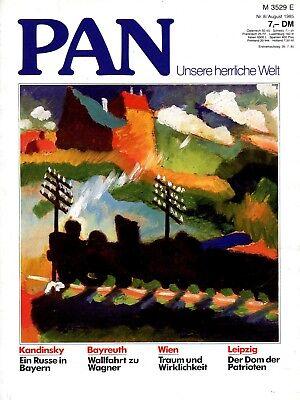 PAN - Zeitschrift für Kunst und Kultur; Nr 8_1985; Kandinsky; Wien; Canova uvm.