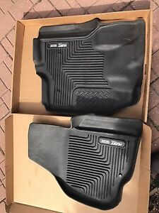 Husky X-Act  front floor mats for Ford superduty