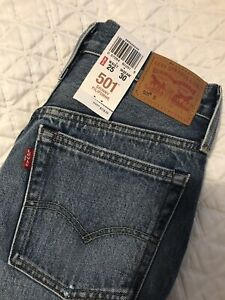 BNWT Levi's 25x30 High Waisted Selvedge Denim Skinny Jeans