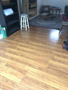 17 boxes- 342 square footage Laminate Flooring! CHEAP