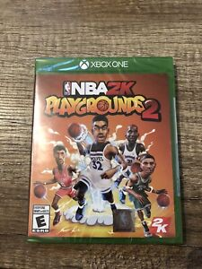 Brand New and Sealed NBA2K Playgrounds 2k