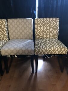 Upholstered chairs (5)