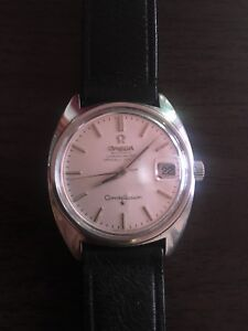 Omega constellation 1966 stainless C case Cal. 564 automatic