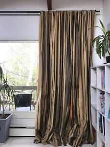 Extra-long Curtain Panels - Set of 16