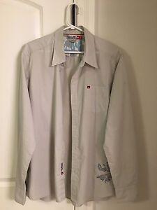 Retro Quicksilver shirt - Men's Large