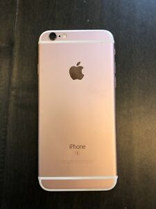 iPhone 6S Rose Gold 64GB unlocked & 4 good  protective  cases