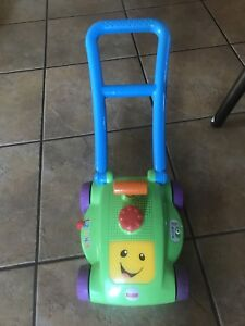 Fisher price laugh and learn lawn mower