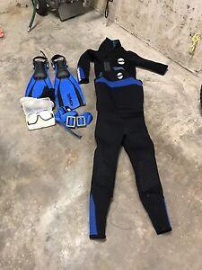 Scuba Starter Kit - Wet Suit