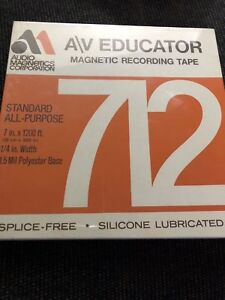 New blank 7 inch reel to reel tape for sale
