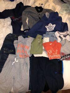 Boys bundle size 6 - sweaters, pants, T-shirt's