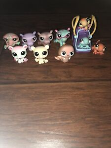 LPS Hippos/Lizards/Polar Bears/Crocodile and Walrus