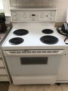 White stove convection self clean