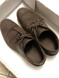 Men's Timberland Used Brown nubucl leather shoes