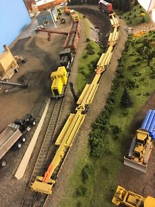 HO scale spine cars