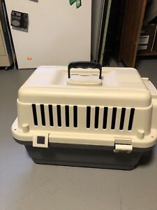 2 small dog cages