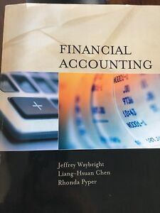Financial & Managerial Accounting Textbooks (Great Condition)