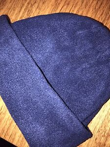 BEANIE - navy blue thermal insulate polar fleece Doncaster Manningham Area Preview