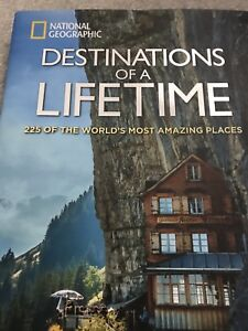 National Geographic Hardcover Book Destinations of a Lifetime