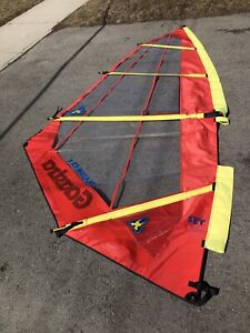 5.0 sm Gaastra windsurfing rig with carbon mast. $300