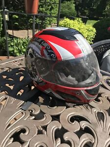 DOT MOTORCYCLE RACING HELMET
