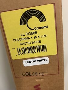 Colorama Paper Background Arctic White 1.35m x 11m