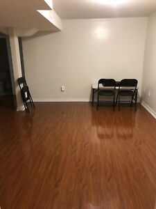 1 Bedroom basement apartment for rent from August 1st