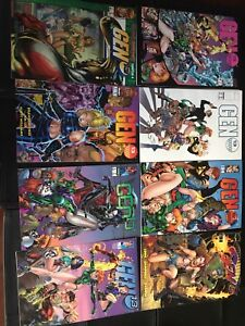 "Image Comics ""GEN 13"" Collection of 12"