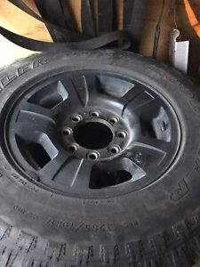 GMC or Chevy tires on aluminum rims