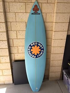 RED HOT CHILI PEPPERS surfboard Wellard Kwinana Area Preview