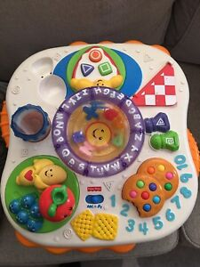 Lot of VTech and fisher price toys