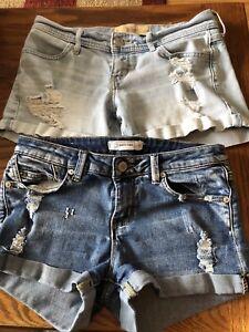 Girls/ladies Jean shorts size 3