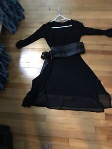 Black Turbine by Lisa Murphy dress and belt