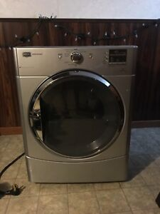 Maytag stainless steel electric dryer