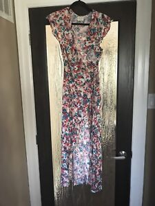 Vici Floral Wrap Dress