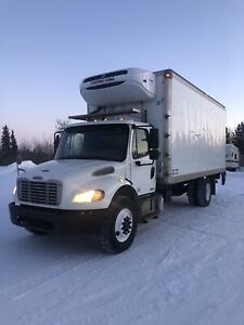 2012 freight liner M2 reefer truck