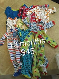 12 month pekkle Costco pj's