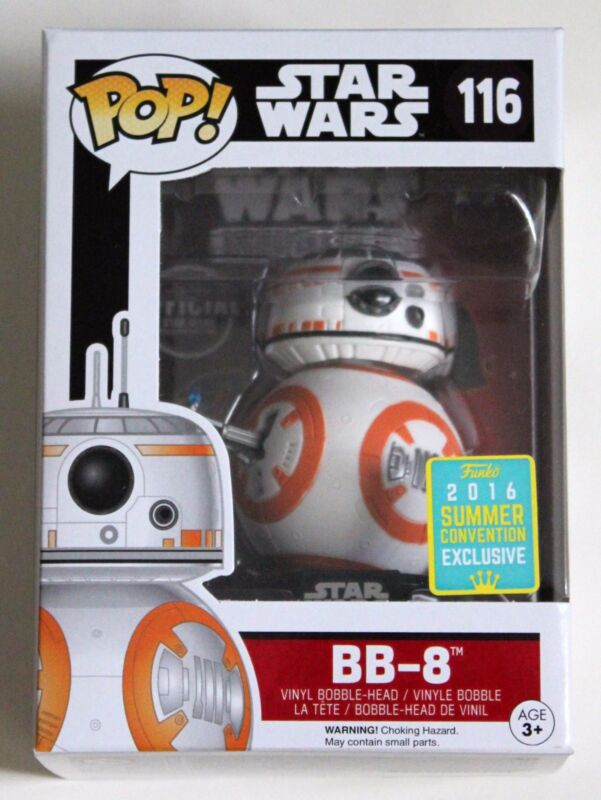 SDCC 2016 THUMBS UP BB-8 FUNKO POP VINYL SUMMER EXCLUSIVE FIGURE STAR WARS TFA