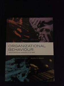 Organizational Behaviour Understanding and Managing Life at work