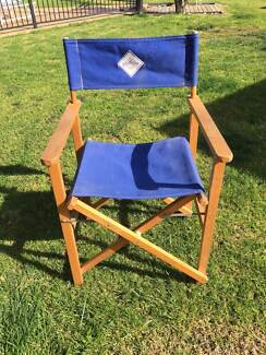 DIRECTORS CAMPING CHAIR. $5.00. Waurn Ponds Part 33