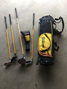 Wilson Left Handed Junior Golf Set