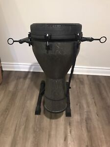 Remo World Percussion Bongo with stand