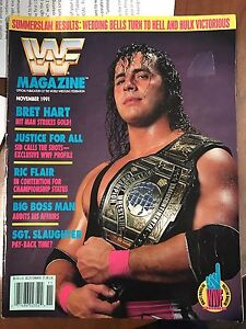 Looking for WWF/WWE Magazines