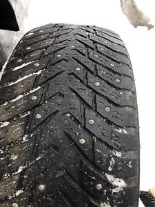 235/55/19 Studded Tires