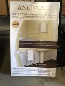 Electric Towel Warmer and Drying Rack