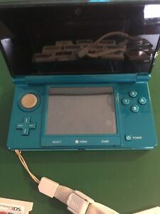 3D DS games & console and case
