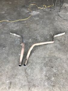 Dual rear tailpipes for 88-98 Chevy