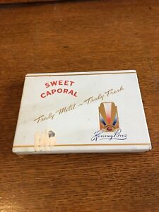 Sweet Caporal Cigarette Tin
